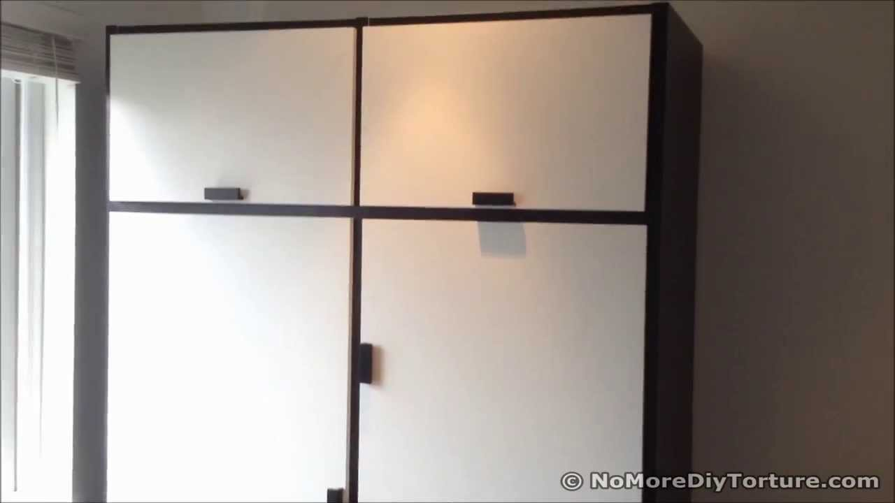 ikea odda wardrobe design youtube. Black Bedroom Furniture Sets. Home Design Ideas