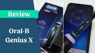 Gambar cover Oral-B Genius X Electric Toothbrush Review [UK]