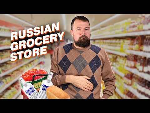 How to shop in the grocery shop in Russia?
