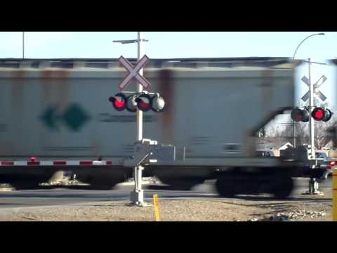 CP cantopex train in Airdrie AB