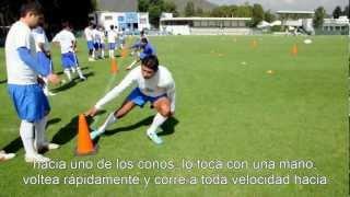 Blazing Football/Soccer Speed: Pro Agility Drill