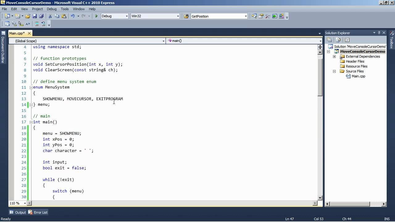 Creating a window in c++ win32 api | 3d game tutorial series | #1.