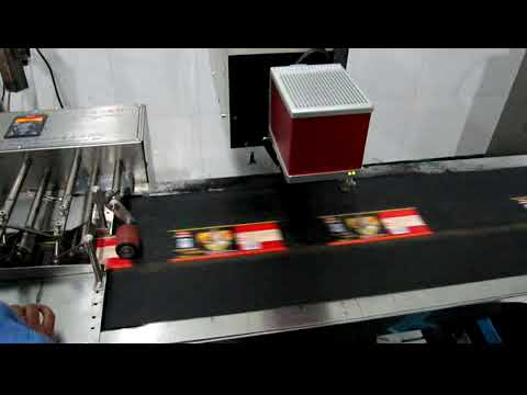 CO2 Laser Marking Machine Print on Paper Labels