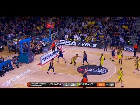 Fenerbahce Dogus' dunk festival against Barcelona