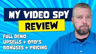 My Video Spy Review With Ranking Proof
