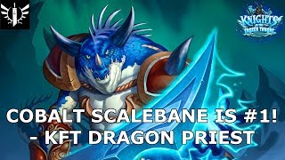 Cobalt Scalebane is #1! (Dragon Priest) - [Hearthstone: Knights of the Frozen Throne]