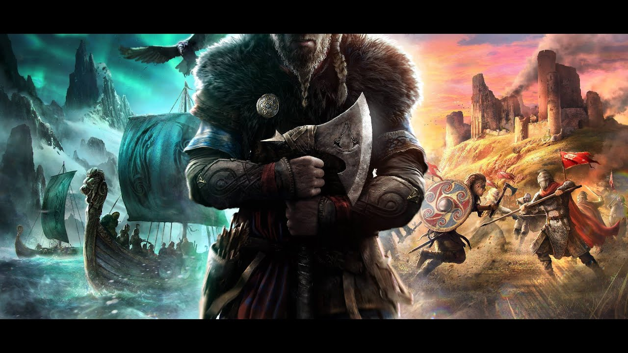 Assassin S Creed Valhalla Bosslogic Art Creation Accelerated