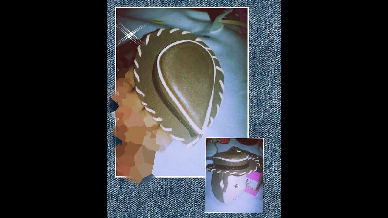 DIY Como Hacer Sombrero De Woody de toy story fofucho - YouTube d5c7b08a67a
