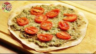 Ламаджо, армянская пицца. Просто, вкусно, недорого.