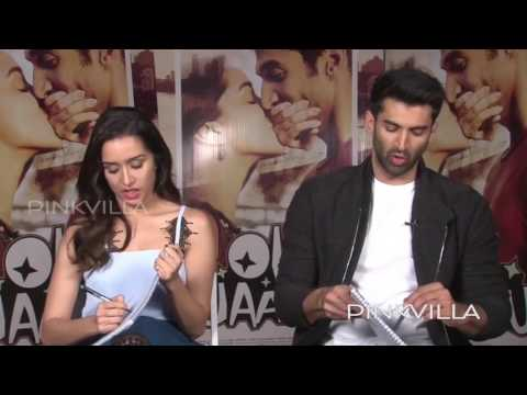 Jaanus Shraddha Kapoor And Aditya Roy Kapur Take The Compatability Test!