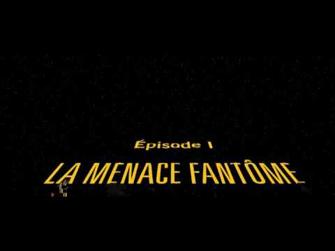 Générique de debut Star Wars I