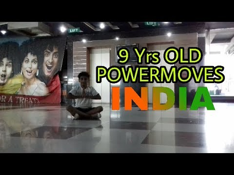 POWERMOVES | KID BBOY | 9 YRS OLD | INDIA @WPM_KIDBBOY