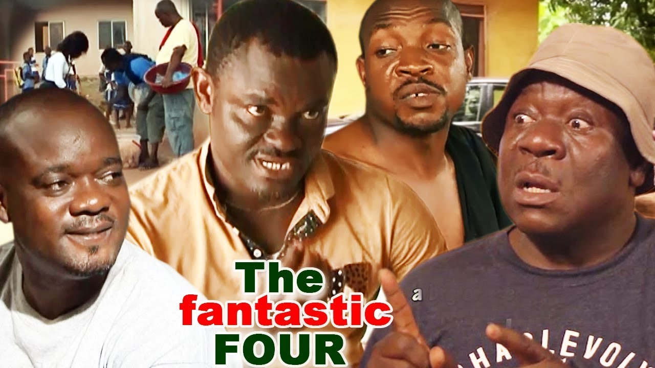 Download The Fantastic 4 - 2019 Latest Trending Nigerian Comedy Movie Full HD