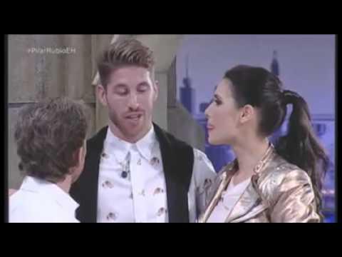 EL HORMIGUERO: Sergio Ramos le canta a Pilar Rubio