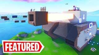 DOWNLOAD MY INSANE TANK COURSE | Fortnite Creative Mode