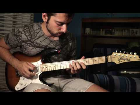 Thing of gold // Snarky Puppy Shaun Martin // Synth Solo on Guitar - Davide Pepi