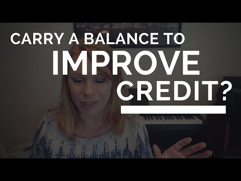 Is Carrying a Balance Good for My Credit Score?