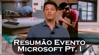 resumo do evento da microsoft 26 10 2016 parte 1 software