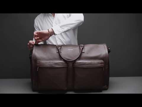 The Garment Weekender — A Closer Look — Hook & Albert