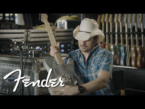 Brad Paisley Signature Road Worn Telecaster® | Artist Signature Series | Fender