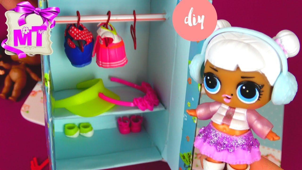 Мебель для кукол для девочек своими руками