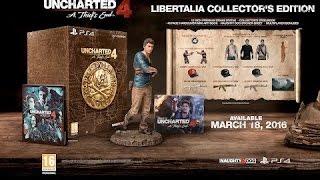 Обзор и распаковка Uncharted 4 Коллекционное Издание Libertalia Edition Unbox