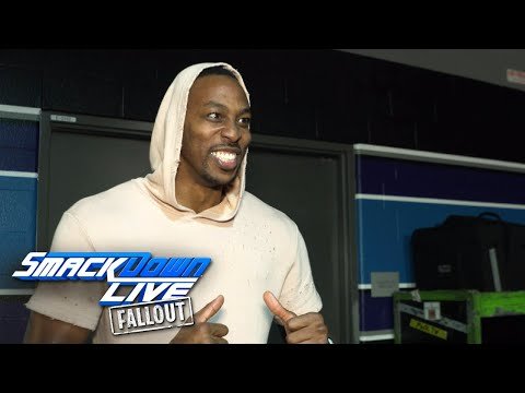 NBA All-Star Dwight Howard raves about SmackDown LIVE: SmackDown LIVE Fallout, Nov. 14, 2017
