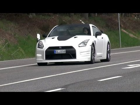 BEST of Nissan R35 GT-R - LOUD Accelerations!!