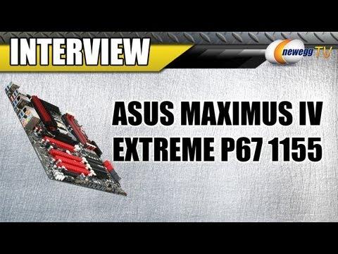 Newegg TV: 5.2Ghz i7 2600K Overclock on ASUS Maximus IV Extreme P67 1155
