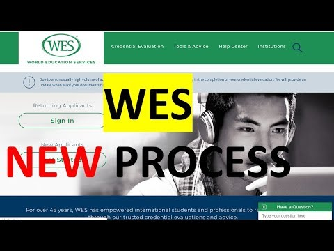 How To Apply To WES For Credential Evaluation, World Education Services