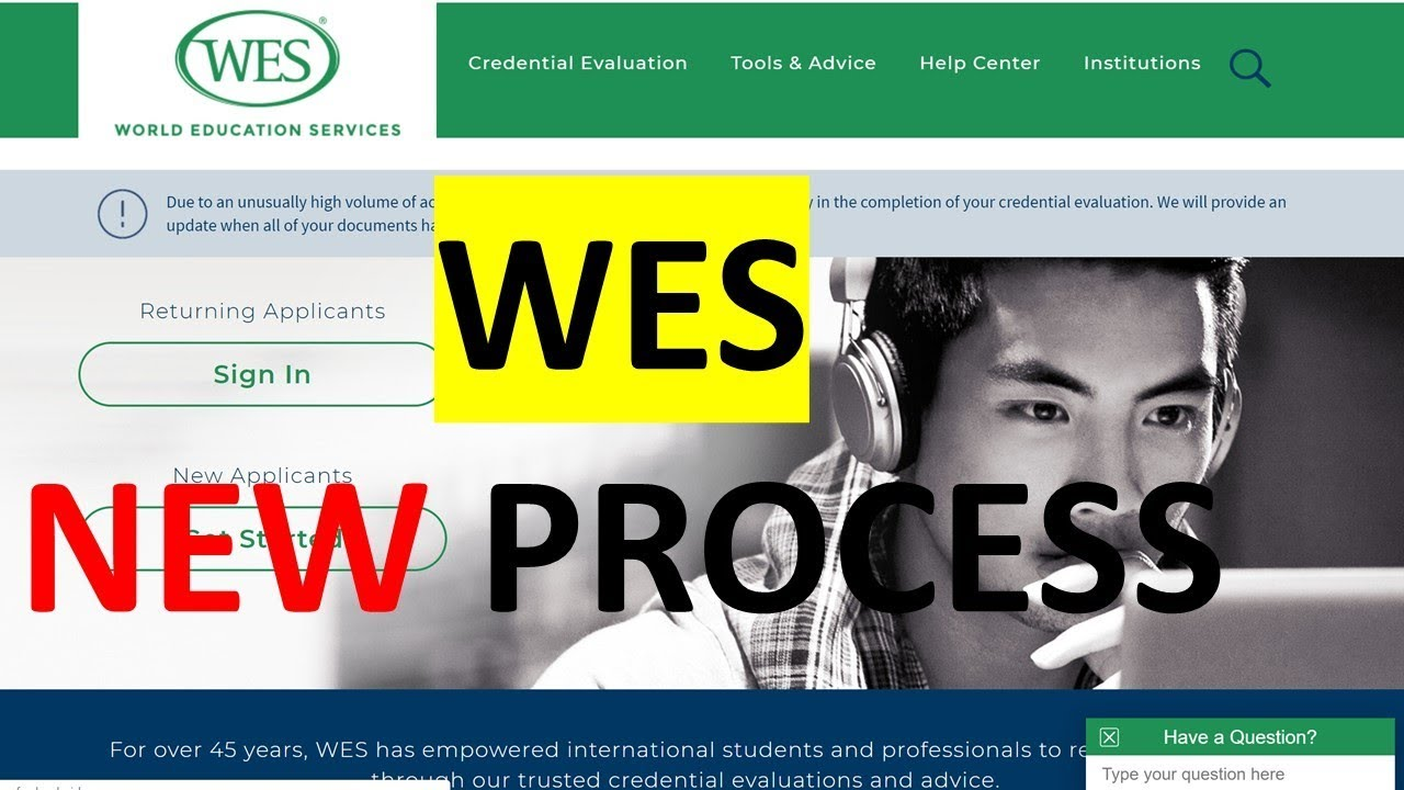 How to apply to WES for Credential Evaluation for Canada