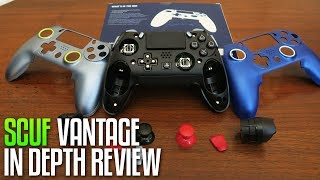 Scuf Vantage In Depth Review, Unboxing, & Teardown