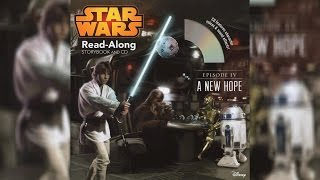 2015 Star War Episode IV A New Hope Read-Along Story Book and CD