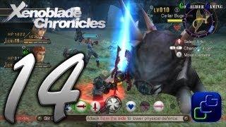 Xenoblade Chronicles Walkthrough - Part 14 - Tephra Cave Quest
