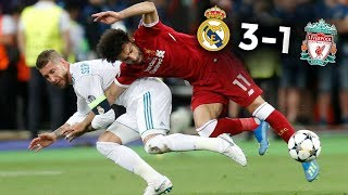 RAMOS BLESSE SALAH : VOLONTAIRE ? (Real Madrid 3-1 Liverpool)
