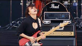 SAKI (Mary's Blood) YASHIRO 宮澤茉凛 (LoVendoЯ) SAKURA AYUMI (BRIDEAR) ベース AZU キーボード AYANO ドラムス むらたたむ.