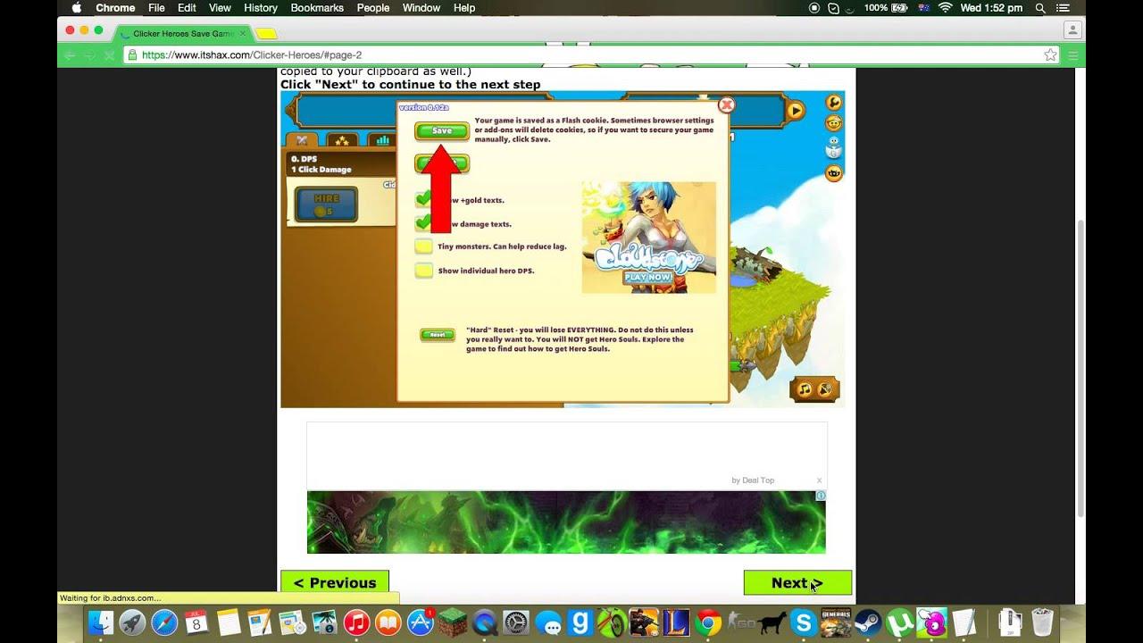 Clicker Heroes Hack;PC and Mac No Download No Survey - YouTube
