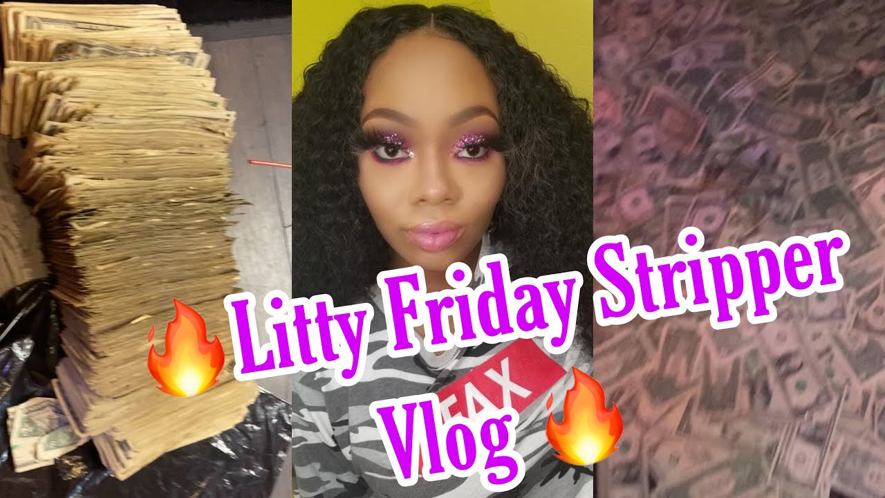 A DAY IN MY LIFE ON A FRIDAY | ATLANTA STRIPPER VLOG| IT WAS A LITTY FRIDAY ‼️