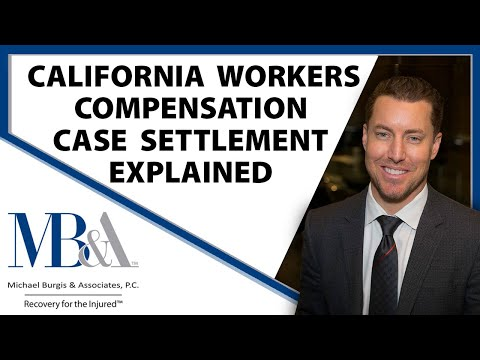 California Workers' Compensation - How a case can settle / settlements explained.