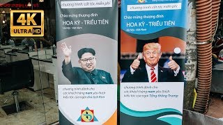 Hanoi redecorate streets to welcome the summit North Korea–United States