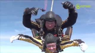 MN Lt. Governor Skydives To Capitol