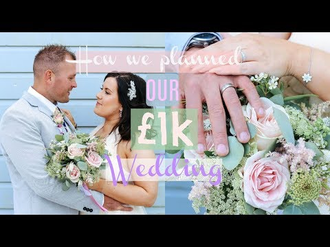 PLAN YOUR WEDDING FOR UNDER £1K | TIPS FOR A WEDDING ON A BUDGET | WEDDING PLANNING HACKS
