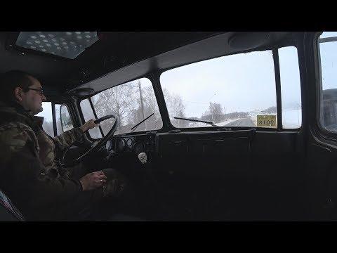Ускорил раздатку в Урал 4320,первый выезд!