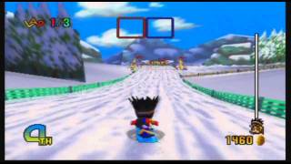 Snowboard Kids 2 Gameplay and Commentary