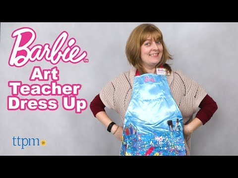 Barbie Art Teacher Dress Up from Just Play