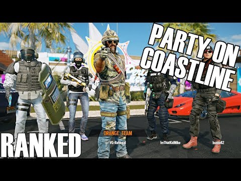 Rainbow Six Siege: Ranked - Island Party