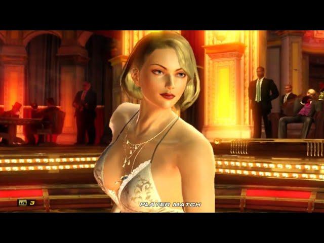 012 - Tekken 6 - Coouge (Anna Williams) vs C-Paris_X (Bob) Standard quality (480p)
