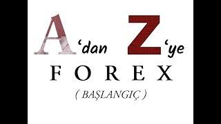 A'dan Z'ye FOREX ( Başlangıç / Eğitim )