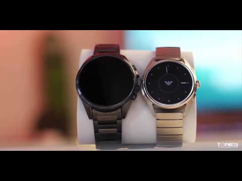 Emporio Armani Connected Smartwatch #topwatch