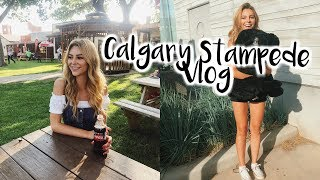 My First Time At The Calgary Stampede! | VLOG